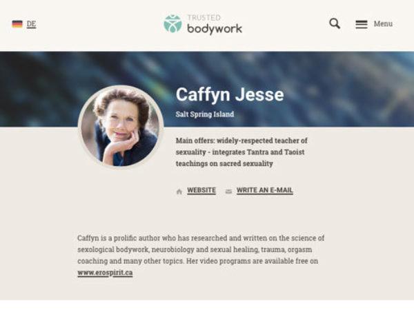Tantra Massag Profil Caffyn
