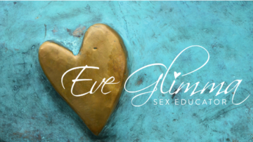 Eve Logo gold heart