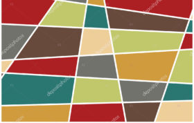 Depositphotos 227688662 stock illustration colorful geometric shapes background modern